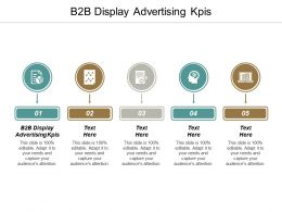 B2B Display Advertising KPIS Ppt Powerpoint Presentation Summary Samples Cpb