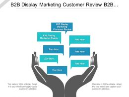 B2b Display Marketing Customer Review B2b Display Marketing Business Cpb