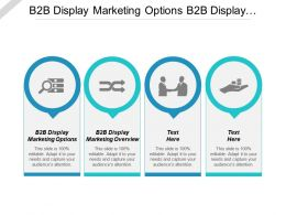 B2b Display Marketing Options B2b Display Marketing Overview Cpb