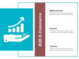 B2B E Commerce Ppt Powerpoint Presentation Pictures Example File Cpb