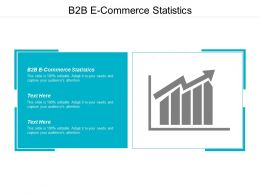 B2b E Commerce Statistics Ppt Powerpoint Presentation Pictures Deck Cpb