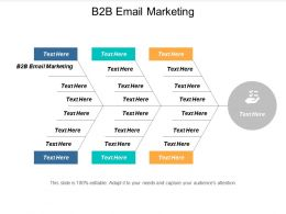 B2B Email Marketing Ppt Powerpoint Presentation Pictures Inspiration Cpb