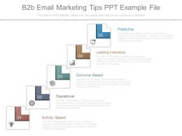 B2b Email Marketing Tips Ppt Example File
