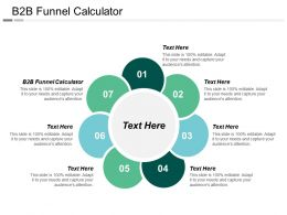 B2B Funnel Calculator Ppt Powerpoint Presentation File Influencers Cpb