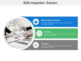 B2B Integration Solution Ppt Powerpoint Presentation Professional Graphics Template Cpb