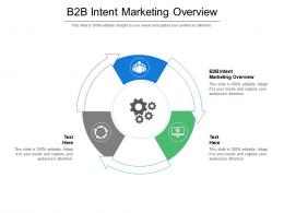 B2B Intent Marketing Overview Ppt Powerpoint Presentation Slide Cpb