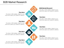B2B Market Research Ppt Powerpoint Presentation Professional Portfolio Cpb