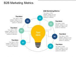 B2b Marketing Metrics Ppt Powerpoint Presentation Gallery Influencers Cpb