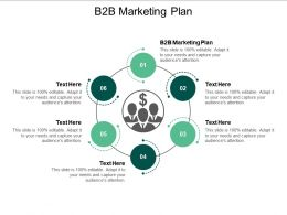 B2B Marketing Plan Ppt Powerpoint Presentation Professional Grid Cpb