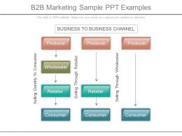 B2b Marketing Sample Ppt Examples