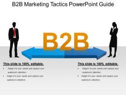 B2b Marketing Tactics Powerpoint Guide
