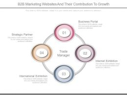 B2b Marketing Websites And Their Contribution To Growth Ppt