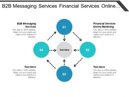 B2b Messaging Services Financial Services Online Marketing Digital Engagement Cpb