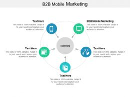 B2B Mobile Marketing Ppt Powerpoint Presentation Layouts Gallery Cpb