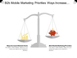 B2b Mobile Marketing Priorities Ways Increase Website Visits