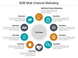B2B Multi Channel Marketing Ppt Powerpoint Presentation File Guidelines Cpb