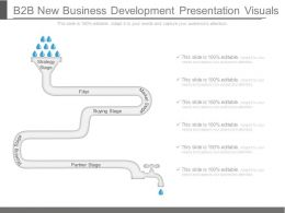 B2b New Business Development Presentation Visuals