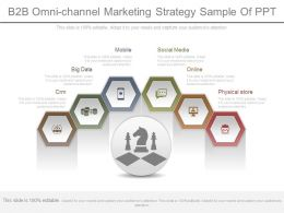 B2b Omni Channel Marketing Strategy Sample Of Ppt