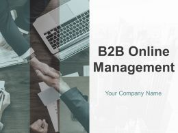 B2B Online Management Powerpoint Presentation Slides