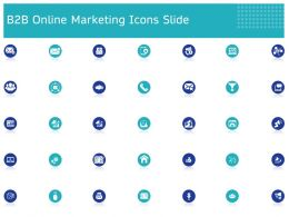 B2B Online Marketing Icons Slide Ppt Powerpoint Presentation Infographics Styles