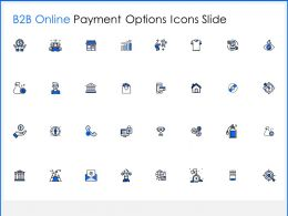 B2B Online Payment Options Icons Slide Goal Ppt Powerpoint Presentation Picture