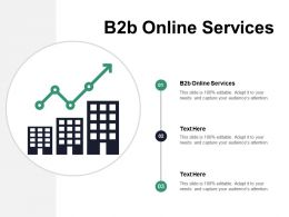 B2b Online Services Ppt Powerpoint Presentation File Graphics Design Cpb