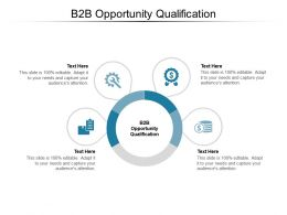 B2B Opportunity Qualification Ppt Powerpoint Presentation Show Deck Cpb
