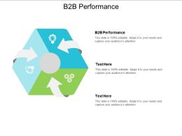 B2B Performance Ppt Powerpoint Presentation File Graphics Design Cpb