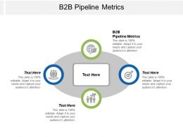 B2B Pipeline Metrics Ppt Powerpoint Presentation Ideas Background Images Cpb