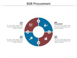 B2B Procurement Ppt Powerpoint Presentation Infographic Template Aids Cpb