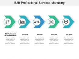 B2B Professional Services Marketing Ppt Powerpoint Presentation Icon Tips Cpb