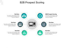 B2B Prospect Scoring Ppt Powerpoint Presentation Summary Inspiration Cpb