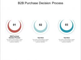 B2B Purchase Decision Process Ppt Powerpoint Presentation Infographic Template Backgrounds Cpb