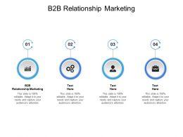 B2B Relationship Marketing Ppt Powerpoint Presentation Portfolio Cpb