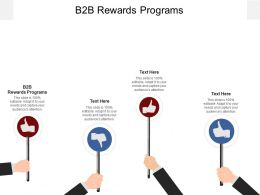 B2B Rewards Programs Ppt Powerpoint Presentation Infographic Template Example Cpb
