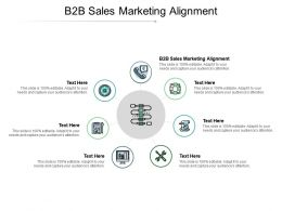 B2B Sales Marketing Alignment Ppt Powerpoint Presentation Background Designs Cpb