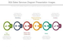 B2b Sales Services Diagram Presentation Images