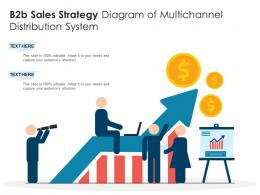 B2b Sales Strategy Diagram Of Multichannel Distribution System Infographic Template