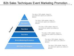 B2b Sales Techniques Event Marketing Promotion Project Management Tool Cpb
