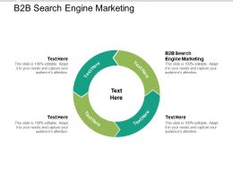 B2B Search Engine Marketing Ppt Powerpoint Presentation File Graphics Pictures Cpb