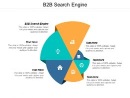 B2B Search Engine Ppt Powerpoint Presentation Infographics Diagrams Cpb
