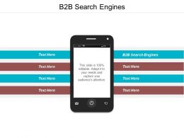 B2B Search Engines Ppt Powerpoint Presentation Pictures Styles Cpb