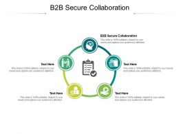 B2b Secure Collaboration Ppt Powerpoint Presentation Styles Summary Cpb