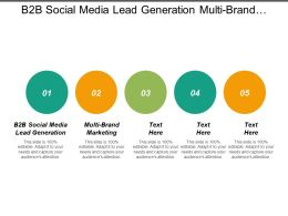 B2b Social Media Lead Generation Multi Brand Marketing Cpb