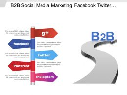 B2b Social Media Marketing Facebook Twitter Pinterest And Instagram