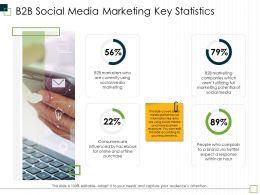 B2B Social Media Marketing Key Statistics M2962 Ppt Powerpoint Presentation Portfolio Slideshow