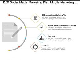 B2b Social Media Marketing Plan Mobile Marketing Campaign Tracking Cpb