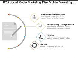 B2b Social Media Marketing Plan Mobile Marketing Campaign Tracking Cpb