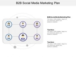 B2B Social Media Marketing Plan Ppt Powerpoint Presentation File Portfolio Cpb