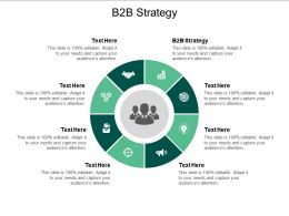 B2B Strategy Ppt Powerpoint Presentation Infographic Template Objects Cpb